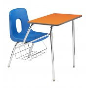 Poly Student Chair Desk - Laminate Top (18