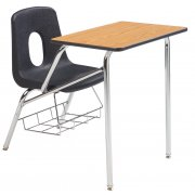 Poly Student Chair Desk - Laminate Top (16