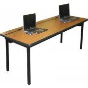 Flip-Top Computer Table (36
