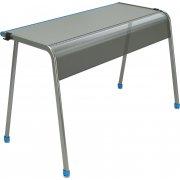 "A&D K-Leg Double School Desk - 60""x20"""