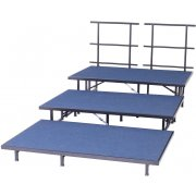 Portable Seated Choir Riser Add-On - 6'L (36