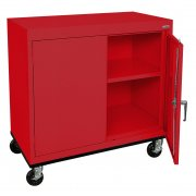 Mobile Steel Storage Cabinet (36