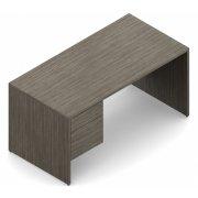 Genoa Left Pedestal Office Desk (30x60