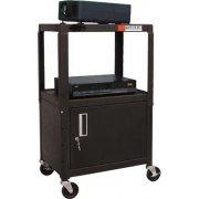 Compact AV Cabinet Cart