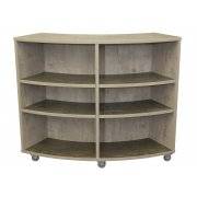 Academia Curved School Bookcase (42