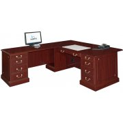 Bedford L-Shaped Office Desk- L Return Large