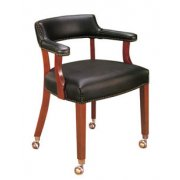 Premium Captain Chair with Casters