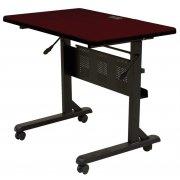 Flipper Table Rectangular - Mahogany (36