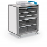 Balt Mobile Makerspace Cart (10 Tubs)
