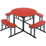 Round Cafeteria Table (48