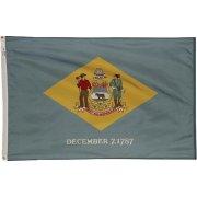 Nylon Outdoor Delaware State Flag (3x5')