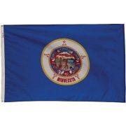 Nylon Outdoor Minnesota State Flag (3x5')