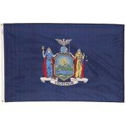 Nylon Outdoor New York State Flag (3x5')