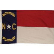 Nylon Outdoor North Carolina State Flag (3x5')