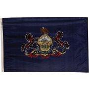 Nylon Outdoor Pennsylvania State Flag (3x5')