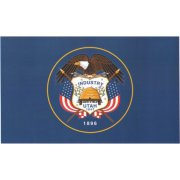 Nylon Outdoor Utah State Flag (3x5')