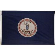 Nylon Outdoor Virginia State Flag (3x5')