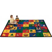 Blocks of Fun Rectangle Carpet (5'10