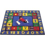 Bilingual Rectangle Rug (8'4