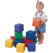Soft Play Toddler Baby Blocks - Set of 12