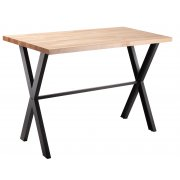 Collaborator Table - Butcher Block Top (36x72x42