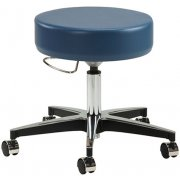 Medical Exam Stool w/ Pneumatic Adj., Aluminum Base
