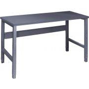 Adjustable Height Steel Workbench - Steel Top (30