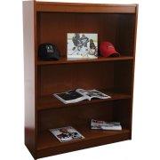 Contemporary Wood Veneer Bookcase Excalibur (3'Wx4'H)