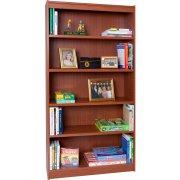 Contemporary Wood Veneer Bookcase Excalibur (3'Wx6'H)