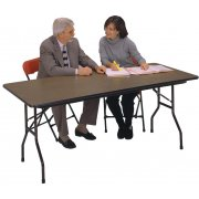 Plywood Top Rectangular Folding Table (60