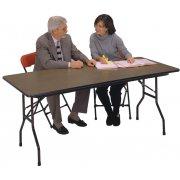 Plywood Top Rectangular Folding Table (60
