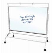 Clear Dry-Erase Wide Room Divider (47