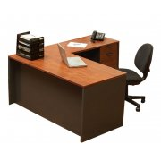 School Office L-Shaped Desk - Right