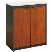 Counter-Height School Office Storage Cabinet  - No Top