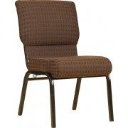 Worship Church Chair with Cutaway Back