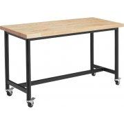 Standing STEM Demonstration Table - Butcher Block (30x60