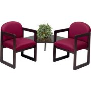 Arm Chairs with Corner Table