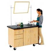 Mobile Instructors Desk (28