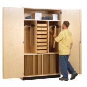 Drafting Supply and Storage Cabinet (48
