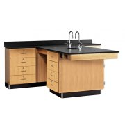 Perimeter Science Lab Workstation - 4 Drawers
