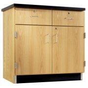 2-Door/2-Drawer Base Cabinet