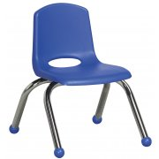 ECR Poly Classroom Chair - Chrome Legs (10