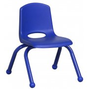 ECR Poly Classroom Chair - Colored Legs (10
