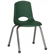 ECR Poly Classroom Chair - Chrome Legs (16