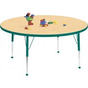 Edu Edge Round Activity Table with Ball Glides (42