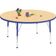 Edu Edge Round Activity Table with Ball Glides (48