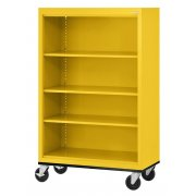 Educational Edge Steel Mobile Bookcase (36