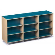 Palette Envision Library Shelving - Double-Sided (94