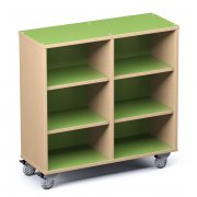 Palette Mobile Library Shelving (42