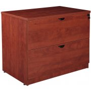 Contemporary 2-Drawer Lateral File Cabinet